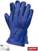 Рабочие перчатки кожаные BLUTO