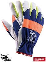 Перчатки рабочие кожаные NEOX