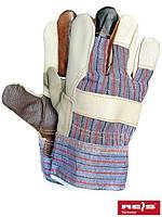 Перчатки рабочие кожаные RLKPAS