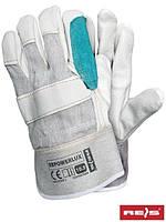 Перчатки рабочие кожаные POWER LUX