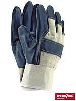 Перчатки рабочие кожаные RL