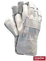 Перчатки рабочие кожаные RLCJ