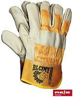 Перчатки рабочие кожаные RLCJMY