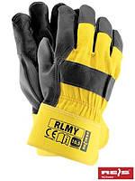 Перчатки рабочие кожаные RLMY
