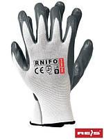 Рабочие перчатки с нитрилом NIFO