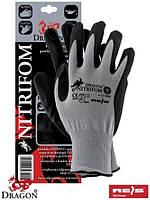 Рабочие перчатки с нитрилом NITRIFOM