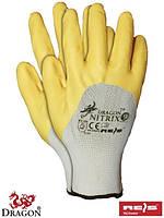 Рабочие перчатки с нитрилом NITRIX