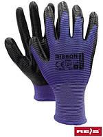 Рабочие перчатки с нитрилом RIBBON
