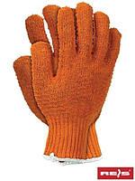 Рабочие перчатки с ПВХ CROSS