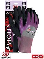 Рабочие перчатки с нитрилом VIOLIN