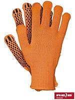Рабочие перчатки с ПВХ FLAT
