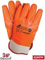 Рабочие перчатки с ПВХ FREEZER-CUFF