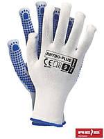 Рабочие перчатки с ПВХ NYDO-PLUS
