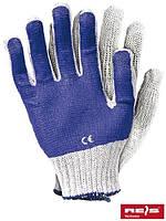 Рабочие перчатки с ПВХ RR WN