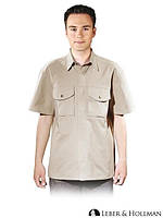 Рубашка мужская рабочая LH-SHIRTER_S BE (хлопок 100%)