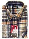 Рубашка мужская фланелевая KF- GBEP  (100% хлопок)
