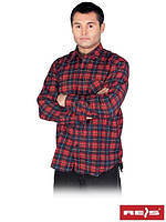 Рубашка мужская фланелевая KF- GC  (100% хлопок)