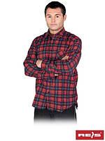 Рубашка мужская фланелевая KF- GN  (100% хлопок)