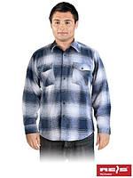 Рубашка мужская фланелевая осень-зима KFLUX G