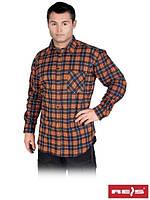 Рубашка мужская фланелевая KF- GP  (100% хлопок)