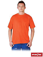Футболка мужская оранжевая TSM P