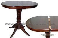 Столы на одной ноге деревянные