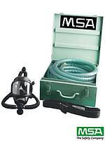 Шланговый дыхательный аппарат свежего воздуха MSA TURBO-FLO
