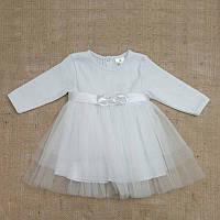 Платье нарядное Ніжність-2 д.р. Интерлок цвета в ассортименте размер 56-68 Бетис