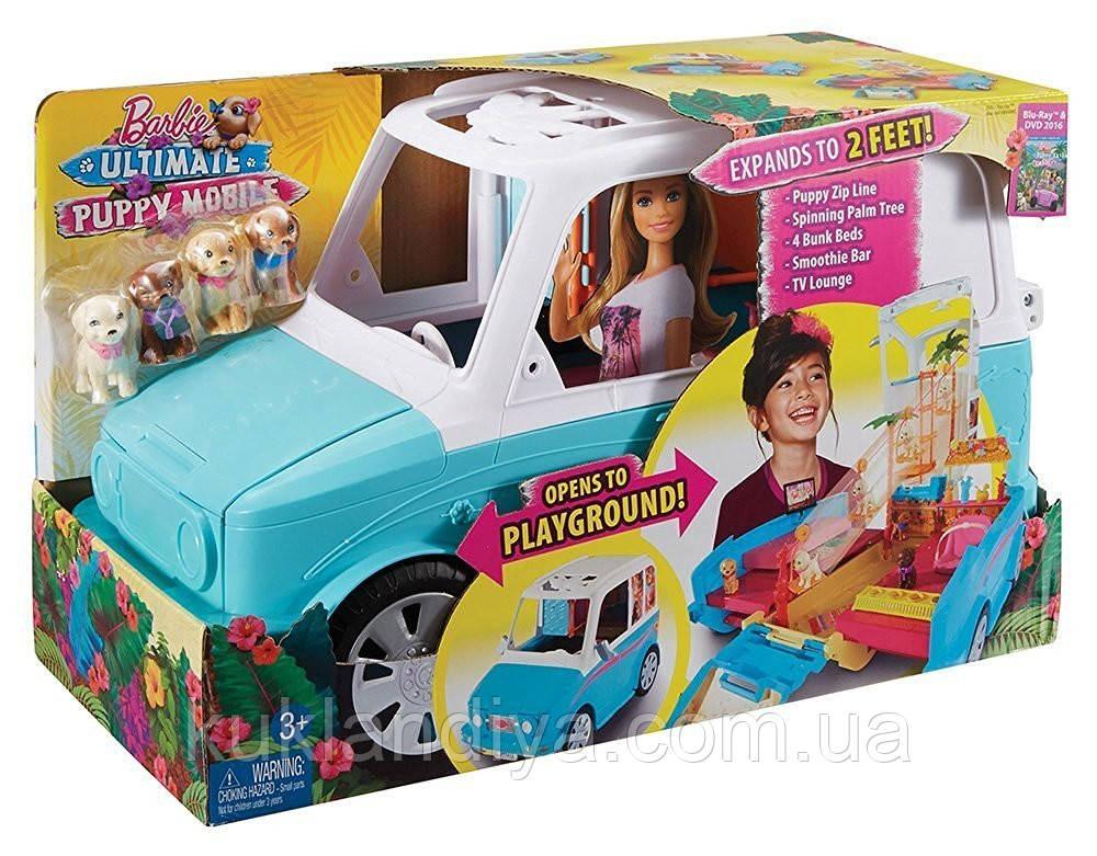Раскладной фургон Барби для щенков - Barbie Ultimate Puppy Mobile