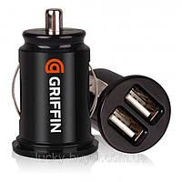 Универсальное автомобильное ЗУ Griffin USB 2 в 1