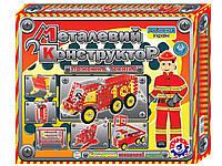 Конструктор металлический Пожарная техника (309 деталей), ТехноК, фото 1