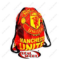 Рюкзак-мешок GA-4433-MN(2) Manchester (нейлон, р-р 39х49см, красный)  ФК Манчестер Юнайтед