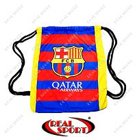 Рюкзак-мешок GA-4433 Barselona (нейлон, р-р 37х46см, красный-синий)