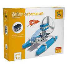 Конструктор «IQCamp» (3550) Солнечный катамаран, 44 элемента