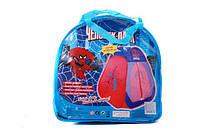 """Палатка  803  (рос. упаковка) з мал. """"Spider man"""""""