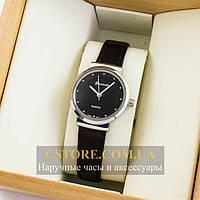 Женские оригинальные часы Guardo silver black 04657g-5995