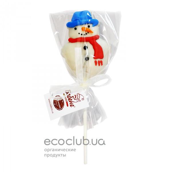Пряник в шоколаде Снеговичок Бабене 30г