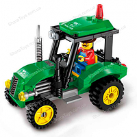 "Конструктор Brick 1102 ""Трактор"""