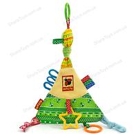 Детская игрушка треугольник с грызунками