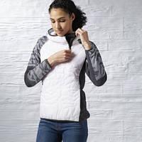 Утепленная куртка рибок женская Tough Fitness Camo Quarter Zip Jacket S95418 aaef4b8ea44