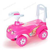 Машинка для катания МИКРОКАР розовая