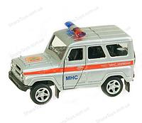 Металлическая модель машины УАЗ Спецслужб от Автопром