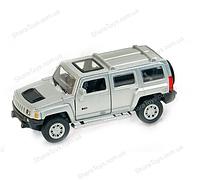 """Детская металическая игрушечная модель машинки """"HUMMER H 3"""""""