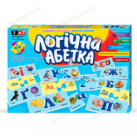 Логическая азбука-пазл на украинском языке