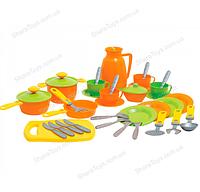 Детский кухонный набор из 38 предметов