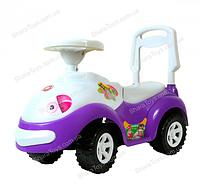 "Машинка-каталка (толокар) ""Луноходик"" (фиолетовый)"