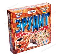 """Настольная развивающая игра """"Эрудит"""""""
