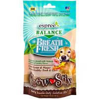 Жевательные стики для ухода за ротовой полостью собак Espree Balance Breath Fresh Chew Sticks, 13 шт