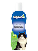 Отбеливающий и цветонасыщающий шампунь для котов Espree Bright White Cat Shampoo, 355 мл