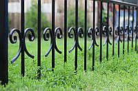 Кованая оградка на заказ, фото 1